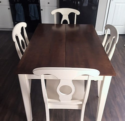 54x54 Fold Away Counter Height Table