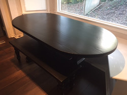 Oval Table for Kitchen Nook