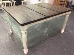 Fold Away Leaf Table Counter Height