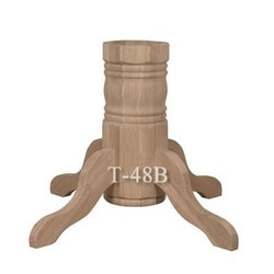 P2 Double Groove Round Pedestal