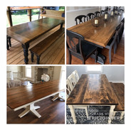 Classic 10' Retangle Dining Room Tables