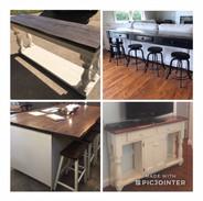 Custom Buffet & Sofa Tables