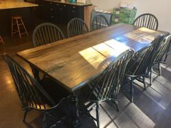 Farm Table w/ Live Edge