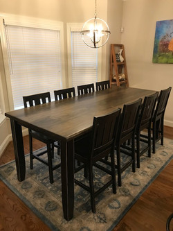 8' Counter Height Rectangle Table