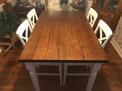 Plank Wood Rectangle Table