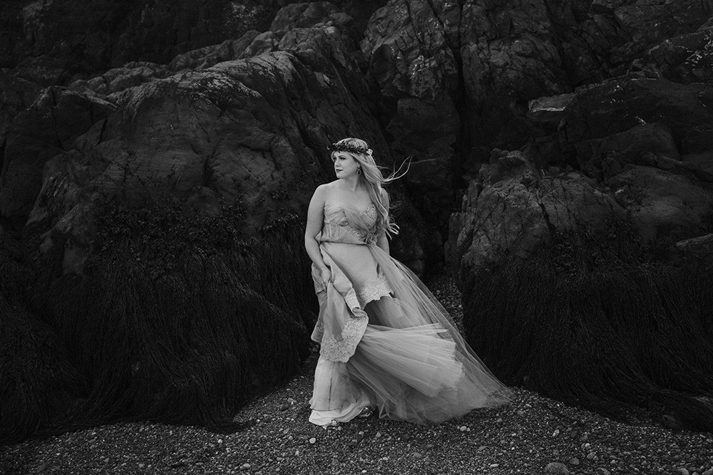 Dress by Claire La Faye Swan Song / Photography by Shannon-May