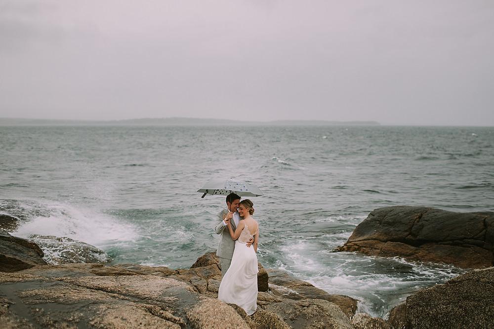 Herring Cove Wedding Portraits