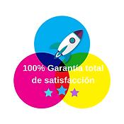 100% Garantía total de satisfacción (1).