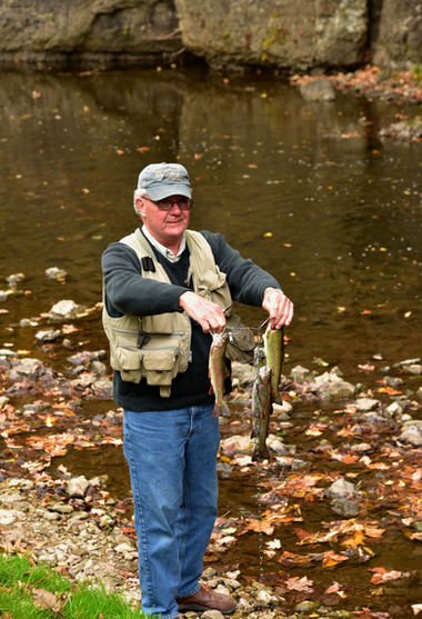 fisherman and his limit at echo valley -
