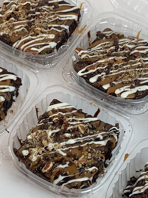 Choice's Candied Turtle Brownies