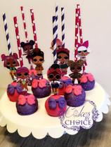 L.O.L Surprise Cake pops
