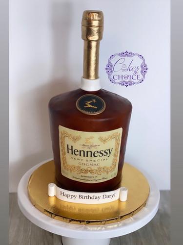 3D Bottle Cake