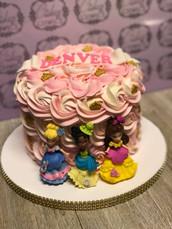 "6"" 2 layer cake"