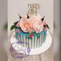 40 the Bday Cake