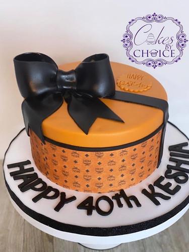 MCM designer theme cake