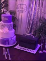 Wedding Cake & Grooms tool box cake