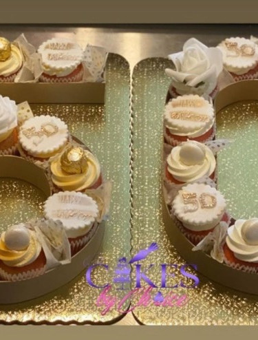#50 Cupcake letter box
