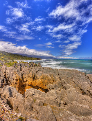Paparoa Rocks, New Zealand