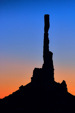 Dawn at Totem Pole, Mounument Valley