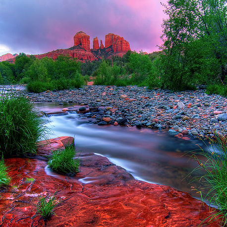 Red Rock Canyon at Dusk, Sedona