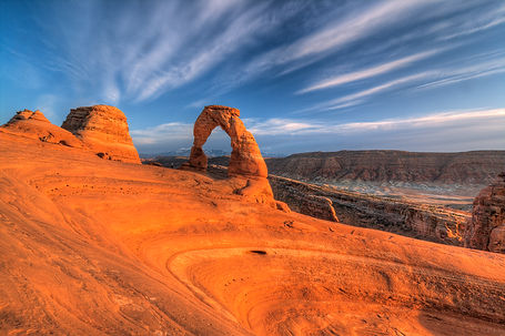 Sunset at Delicate Arch, Utah