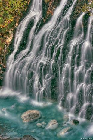 Shirahige Falls, Hokkaido, Japan