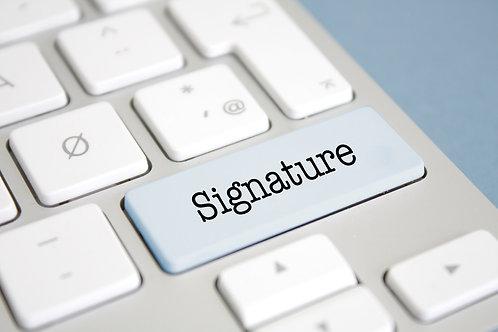 Signature Sponsor