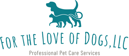 For The Love Of Dogs, LLC Logo and Home Page