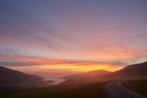 Sonnenaufgang Staffelegg