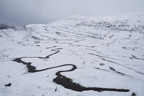 erster Schnee auf der Glattalp