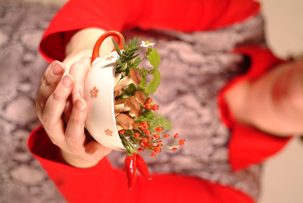 Eventfoto mit Blumen