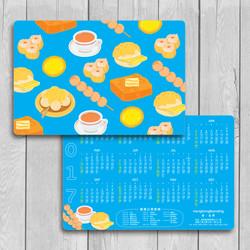 Hong Kong Local Food_CalendarCard_S_Mockup