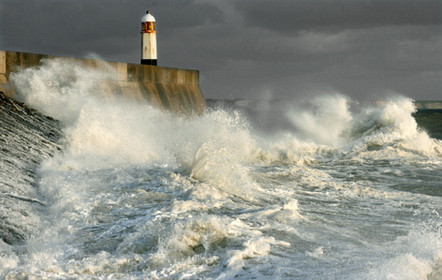 Porthcawl seastorm