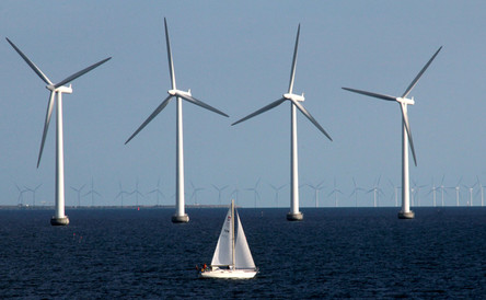 Norrth sea windfarm