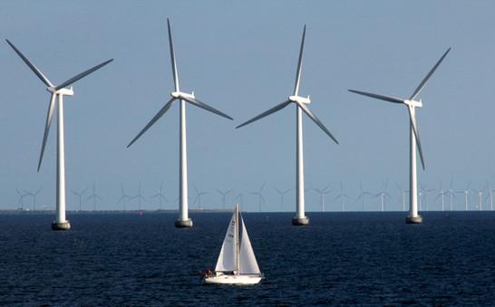 Norrth sea windfarm