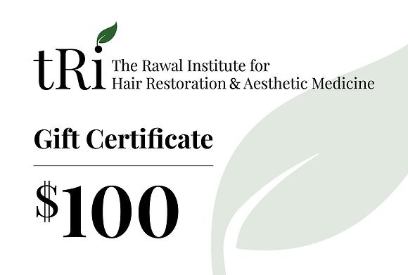tRi Gift Certificate