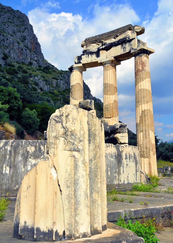 Δελφοί - Αθήνας Θόλος