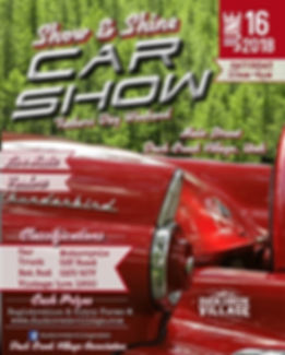Duck Creek Village Car Show