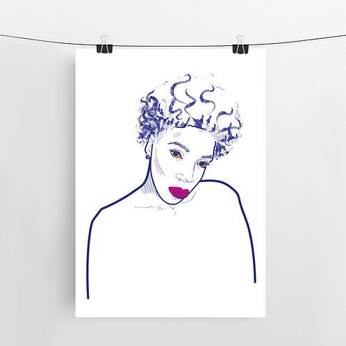 Ezinne, Art Print
