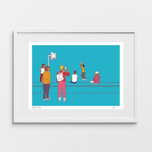 Basketball - Limited Edition Giclée Art Print