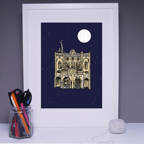 Duke of Yorks at Night, Art Print