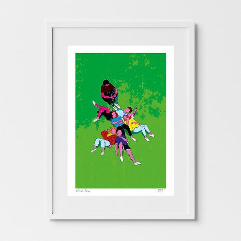 Friends - Limited Edition Giclée Art Print
