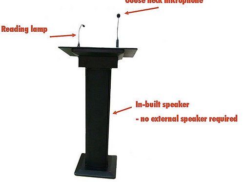 TCI Lectern with Audio System