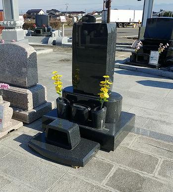 墓石本体  オリジナル洋型 縦タイプ1