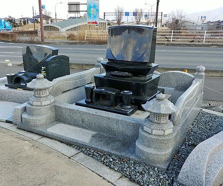 墓石セット「想(おもい)」
