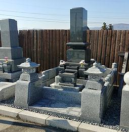 墓石セット「流麗(りゅうれい)」