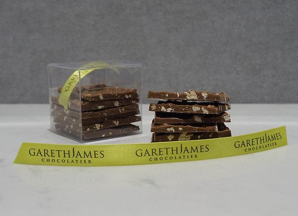 36% Caramelia and Roasted Pecan Pavé