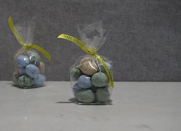Hazelnut Praline Quail Eggs