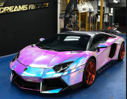 MCH01 Neo Chrome car