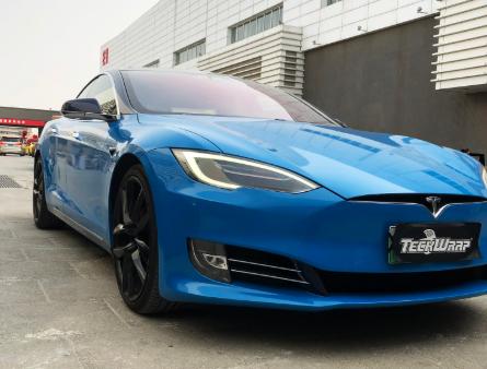 MT03G Gloss Electric Blue car